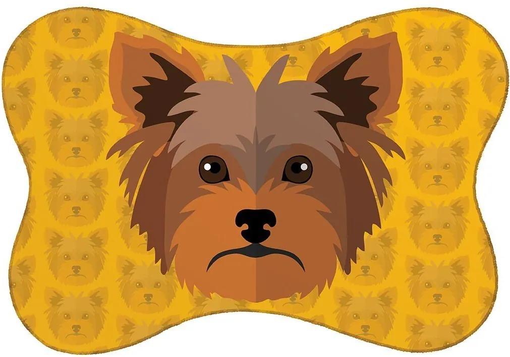 Tapete PET Mdecore Yorkshire Amarelo46x33cm