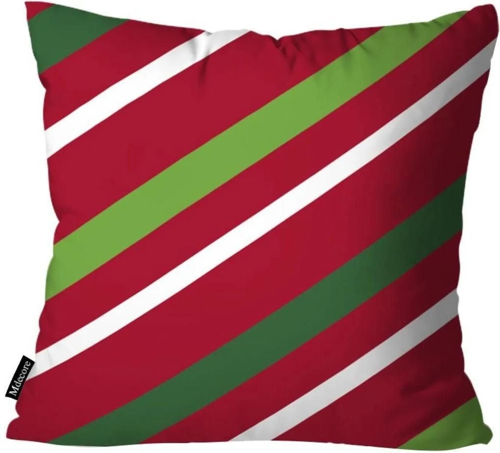 Capa para Almofada Mdecor De Natal Vermelho