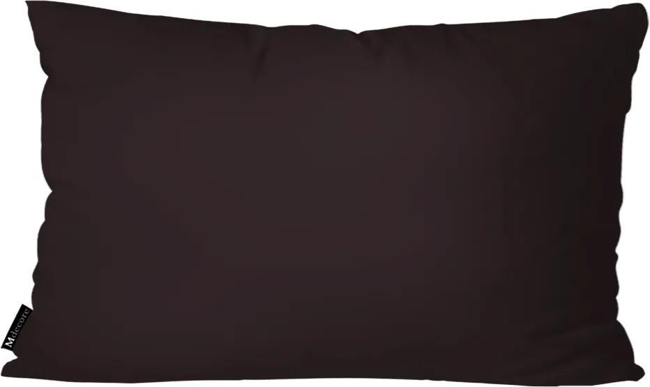 Almofada Mdecore Lisa Cinza Escuro30x50cm