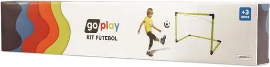Go Play Kit Futebol om Bola Trave de Gol e Bomba Indicado para +3 Anos Multikids - BR952 BR952