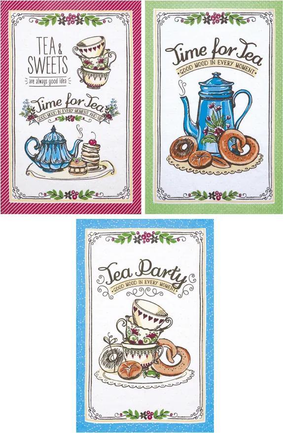 Jogo Pano Copa Dohler Felpudo Prata - Tea Sweets