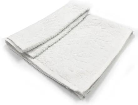 Toalha De Banho Luxo  Cor Branca 68cm X 1,36m