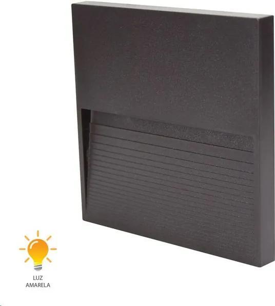Balizador Fine LED Marrom 12cm 3W 3000K Bivolt - 20433015 - Germany - Germany