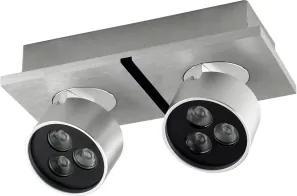spot sobreposto OTIC 19cm led alumínio cinza BELLA YD2582