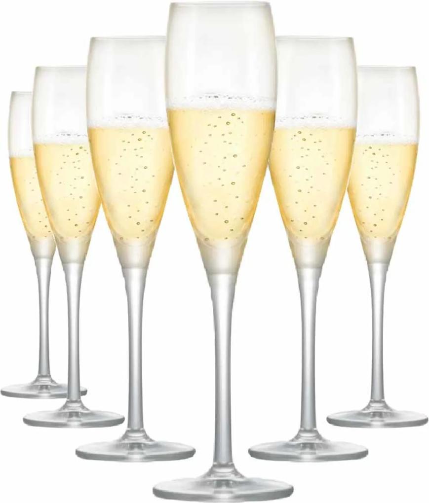 Jogo de Taças Vinho Proseco Proseco Cristal 135ml 6 Pcs