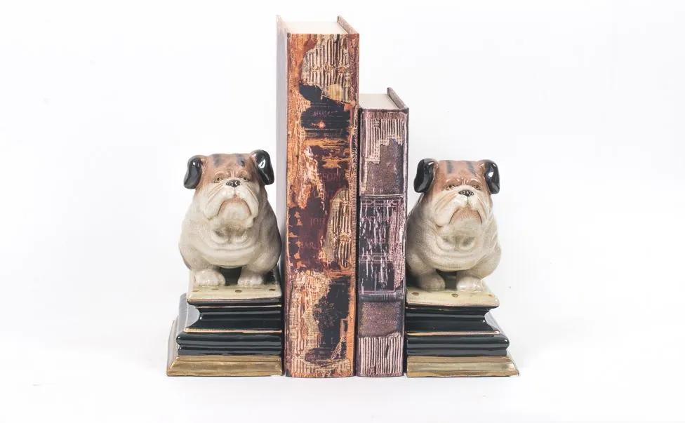 Aparador de Livros Decorativo de Porcelana Xangai
