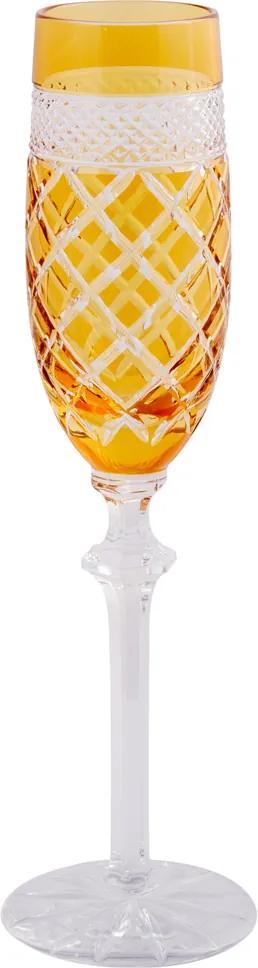 Taça de Cristal Lodz para Champanhe 190 ml Lublin