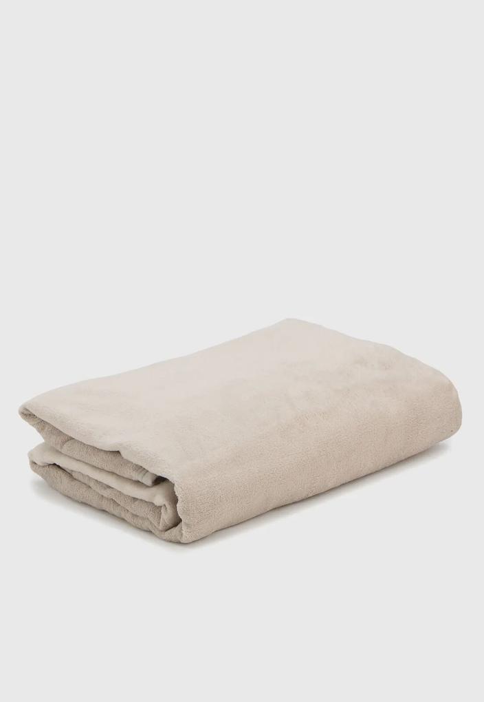 Cobertor Solteiro Buddemeyer Aspen 160x220cm Bege
