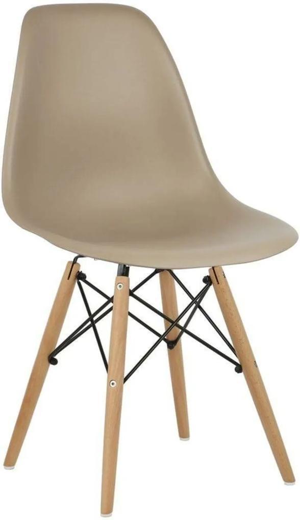Cadeira Decorativa Lyam Decor Eiffel Charles Nude
