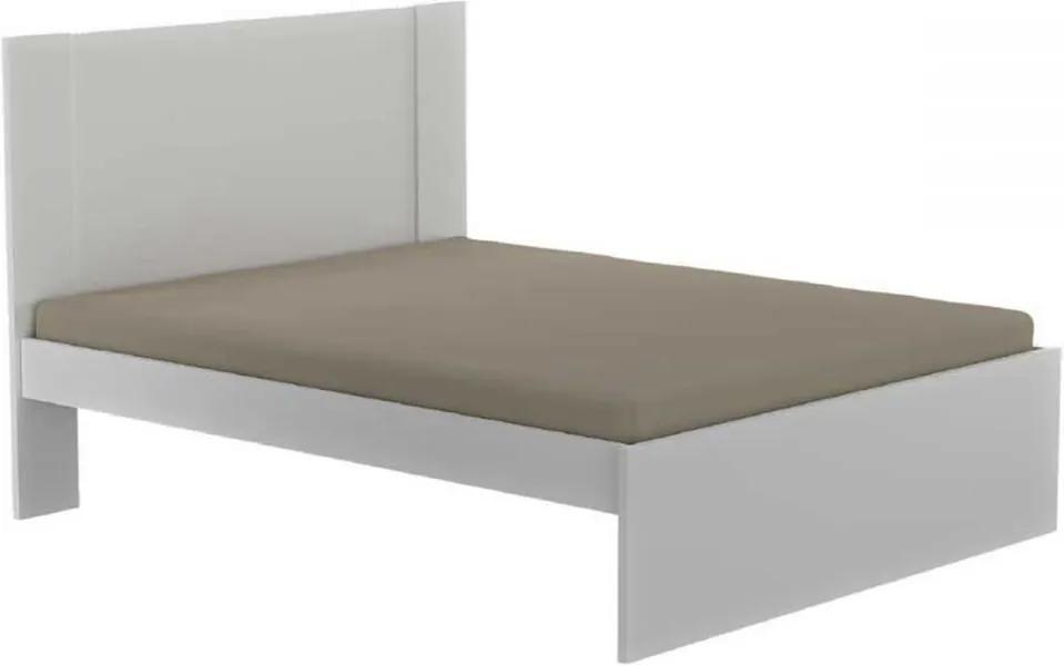 Cama de Casal 100% Mdf 2305 Branco - Foscarini
