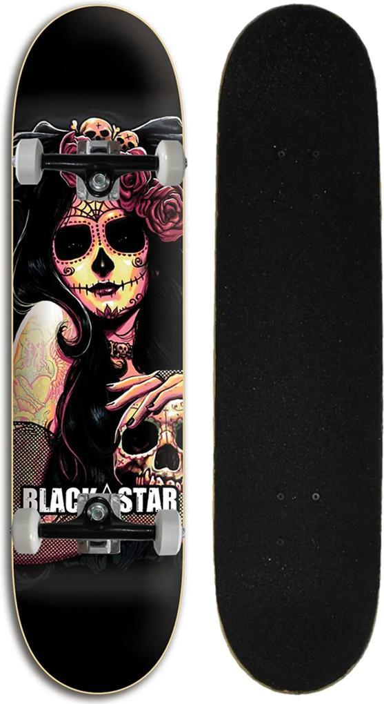 Skate Black Star Chica 7.80
