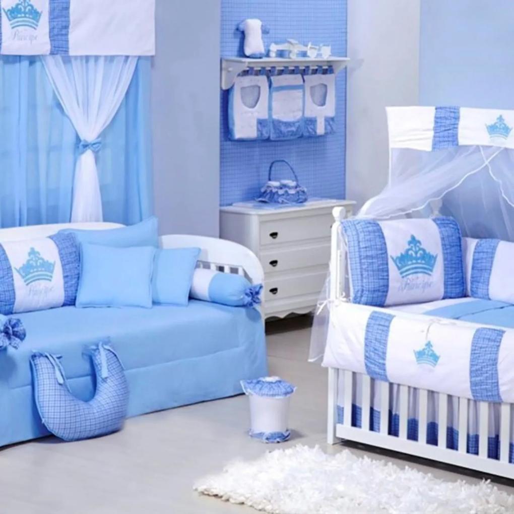 Quarto Para Bebê Padroeira Baby Príncipe Azul Bebê