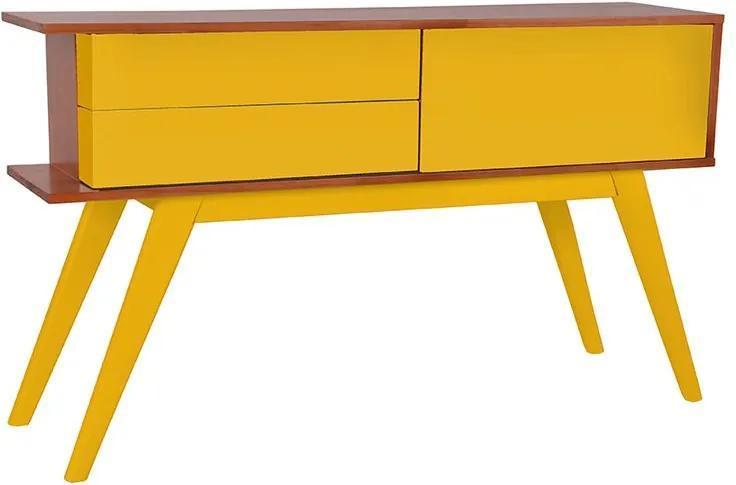 Aparador Veneza Amarelo - Wood Prime MP 221058