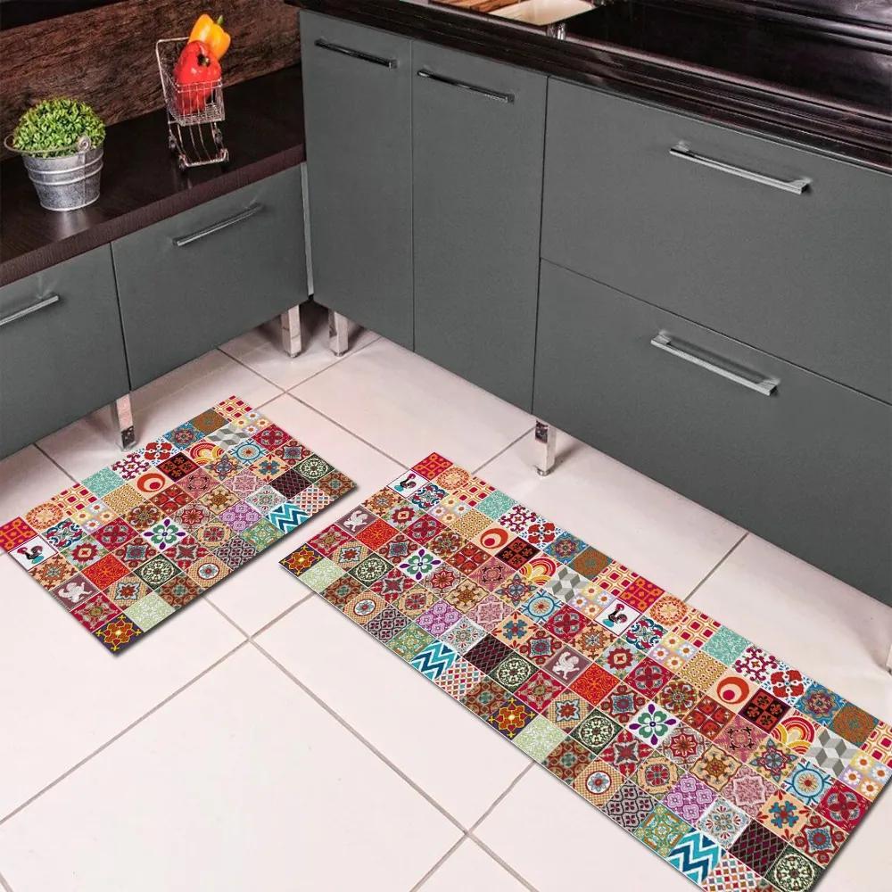 Jogo de Tapete de Cozinha, Porto - 2 Pças