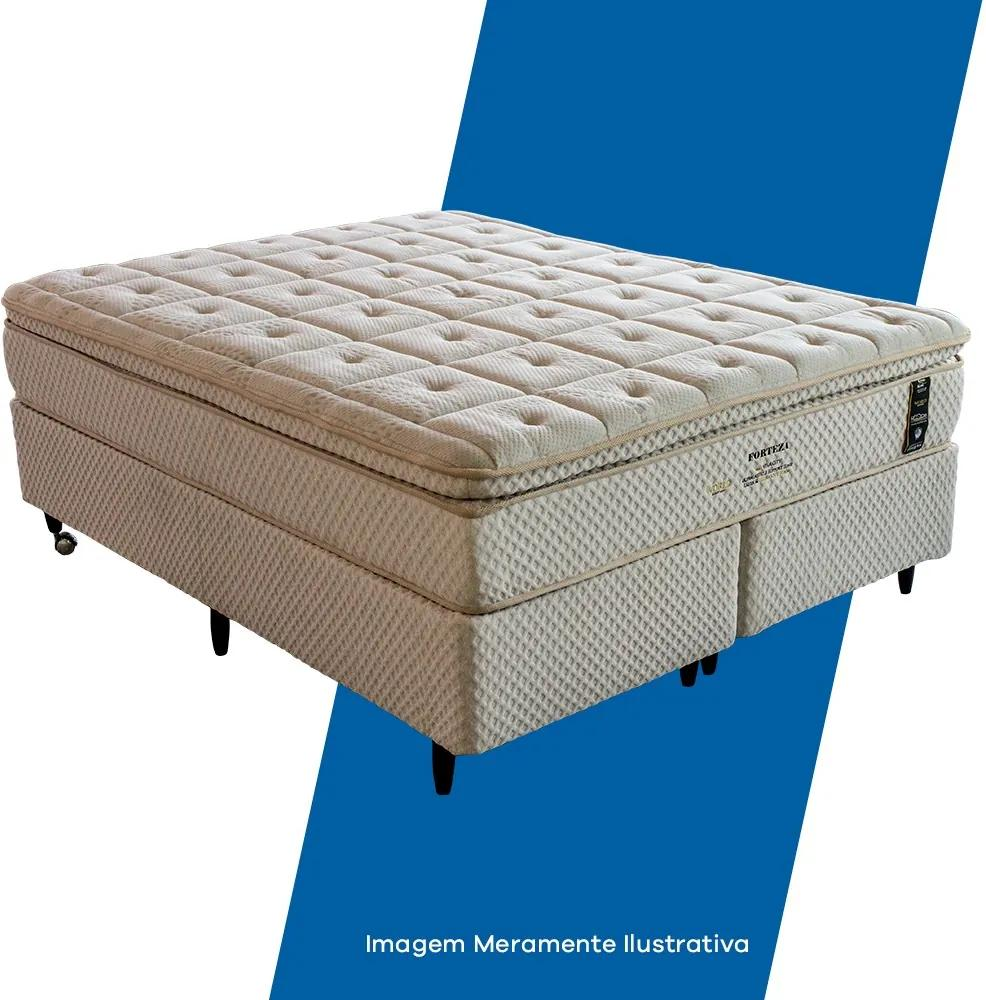 Conjunto Queen Forteza Pillow - Macio - 1,58 x 1,93