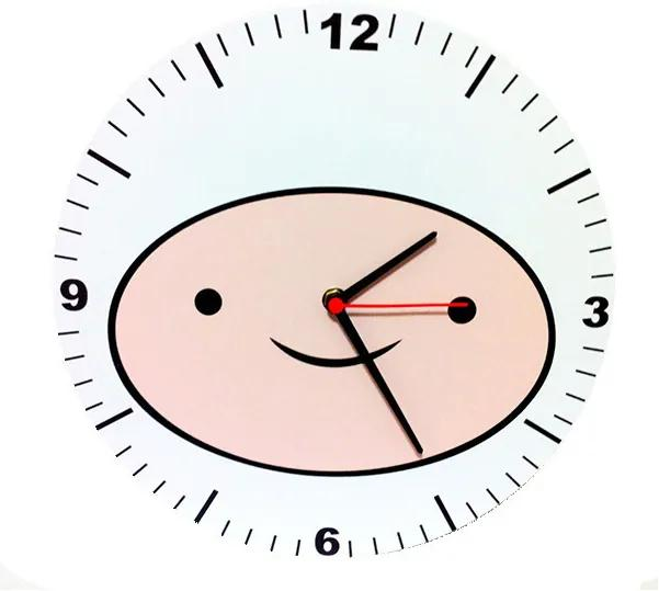 Relógio Decorativo Adventure Time Finn