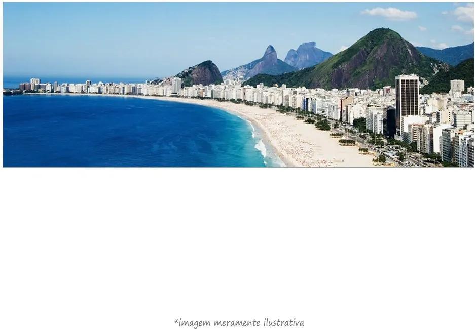 Poster Praia De Copacabana, Rio De Janeiro (170x60cm, Apenas Impressão)