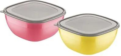 Conjunto de potes 2 peças Mix Color Tramontina 25099949