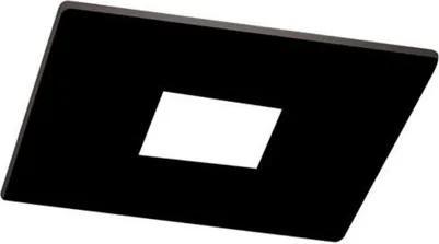 Plafon Embutir Alumínio Preto Lisse 2 Pin Hole