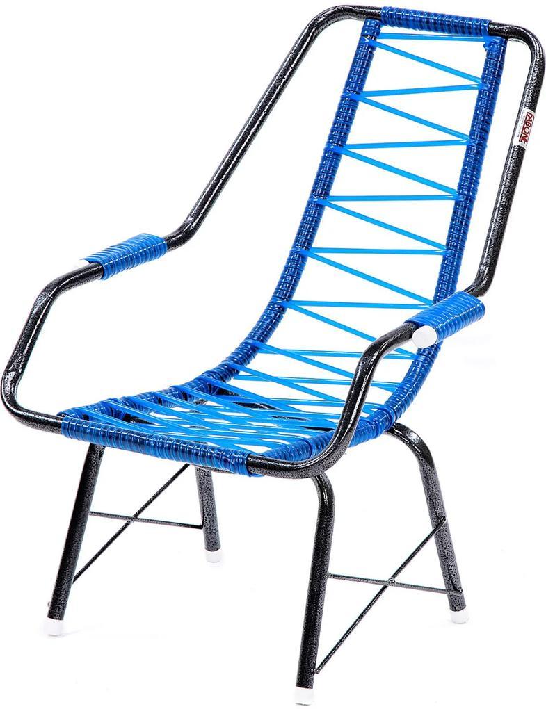 Cadeira De Fio Infantil Eletrostático Plus Azul Fabone Móveis
