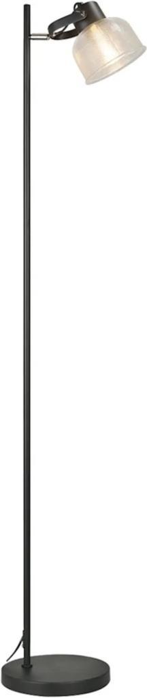 Coluna De Piso Savona Premier Iluminação, 160X23, Metal, Preto ÚNICA