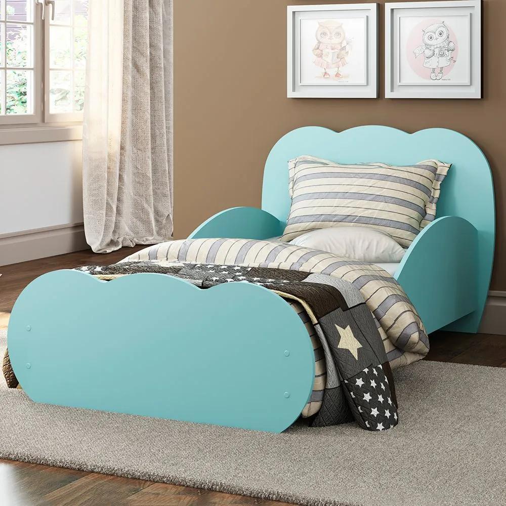 Mini-cama Nuvem 2667.158 Azul - Multimóveis