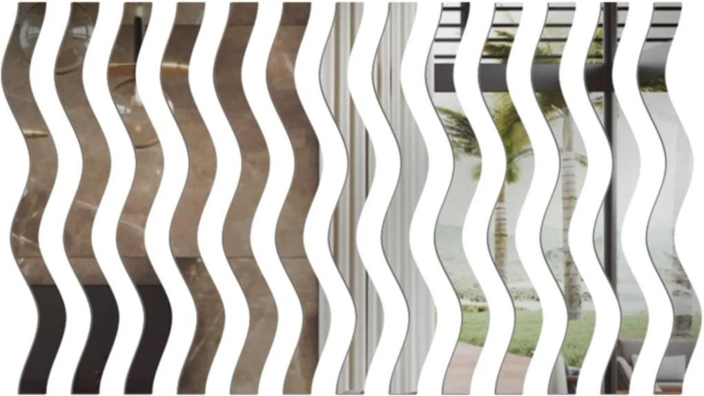 Espelho Love Decor Decorativos Ondas Único