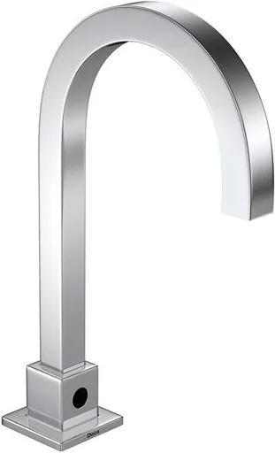 Torneira para Banheiro Mesa com sensor Decalux Quadrada Bivolt a Bateria 1187.C.SLX.ONOF - Deca - Deca