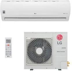 Ar Condicionado Split HW LG Dual Inverter Power 31.000 BTUs Quente/Frio 220V