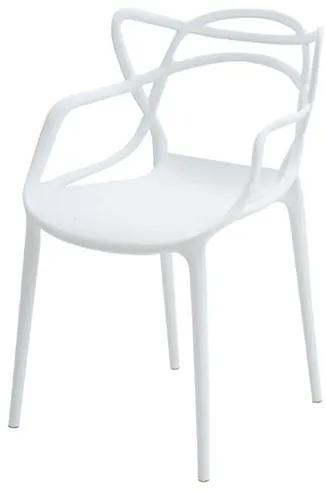 Cadeira INFANTIL Allegra Polipropileno Branca - 38191 Sun House