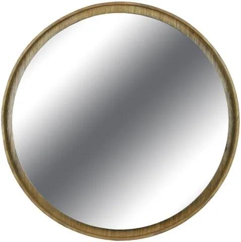 Espelho Lua Borda Louro Freijo 40cm - 60296 Sun House