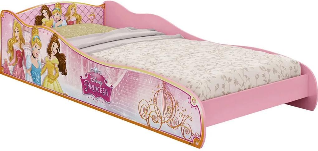 Mini Cama Princesas Disney Rosa Pura Magia
