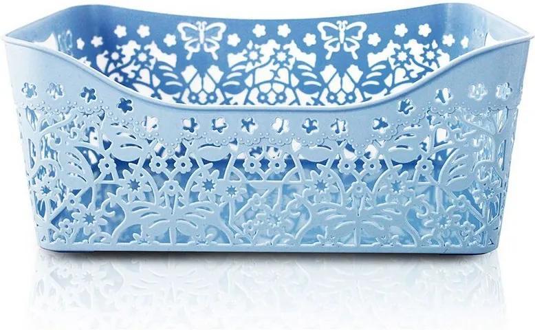 Cesto Organizador Lifestyle Grande Azul - Jacki Design