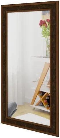 Quadro Espelho Retangular Alfenas 2,08 MT (ALT) Moldura MDF cor Caramelo - 48706 Sun House