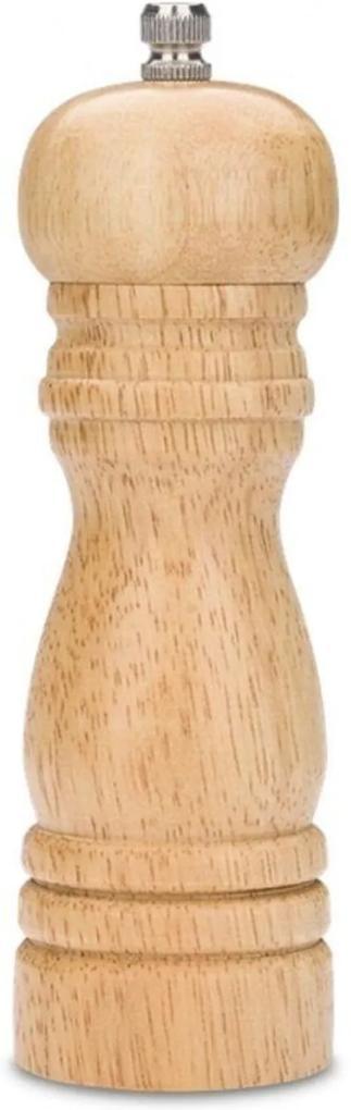 Moedor para Pimenta e Sal - Parma 12 x Ø5 cm - Madeira Brinox