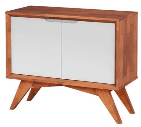 Buffet Uriel 2 Portas Natural e Branco - Wood Prime MP 27558