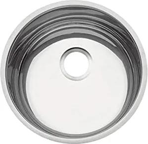 Cuba de embutir Tramontina em aço inox polido Luna Ø38 cm Tramontina 94044406