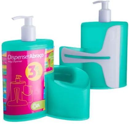 Dispenser Abraço Verde 600ml 10864/0129 - Coza - Coza