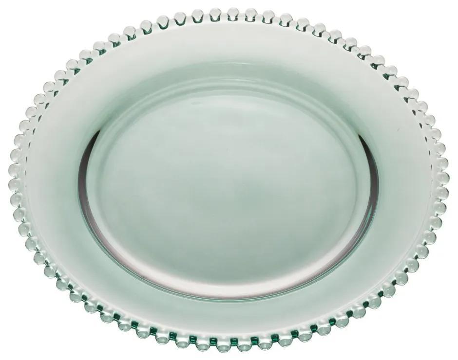 Prato Raso Cristal Pearl Verde 28cm 28421 Wolff