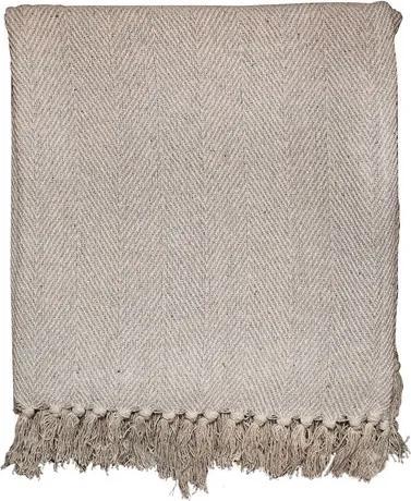 Manta para Sofá Catrina 160x130cm - Cinza Claro