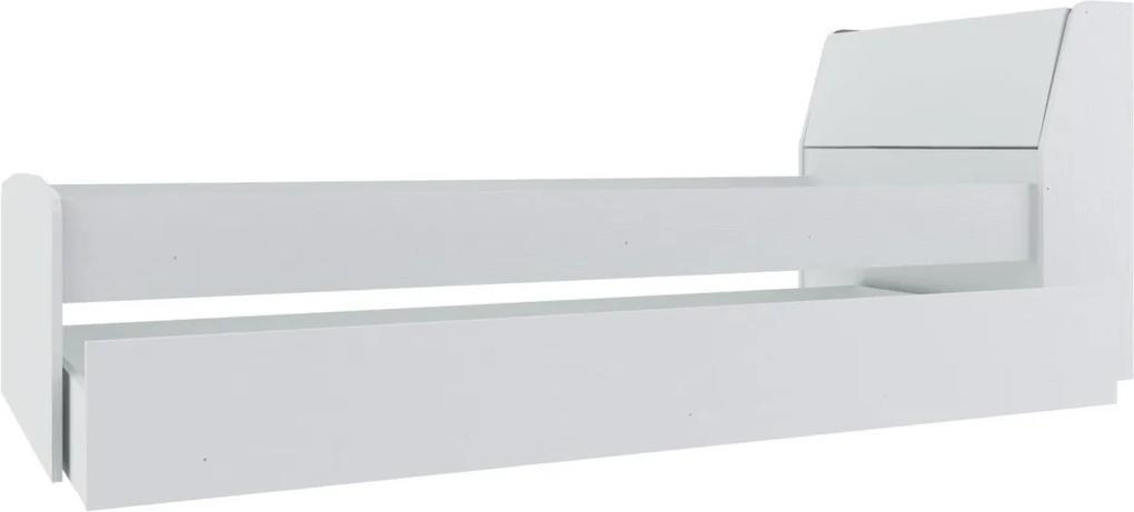 Bicama C/ Baú Gavetas Branco Hecol
