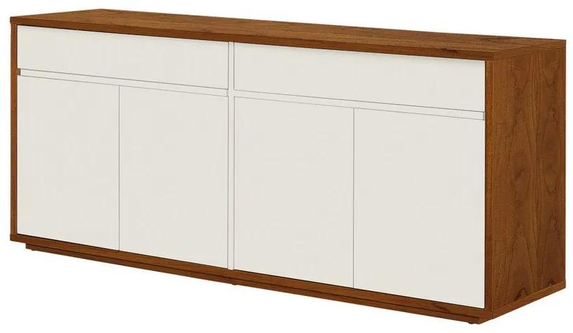Buffet Aieta 4 Portas 135 cm - Wood Prime OC 27488