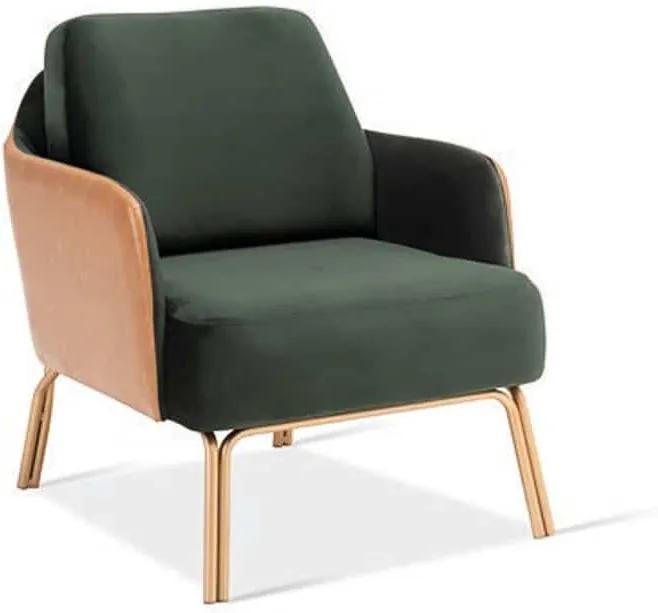 Poltrona Zara Base Aço Carbono Design Contemporâneo Casa A Design by YE Design