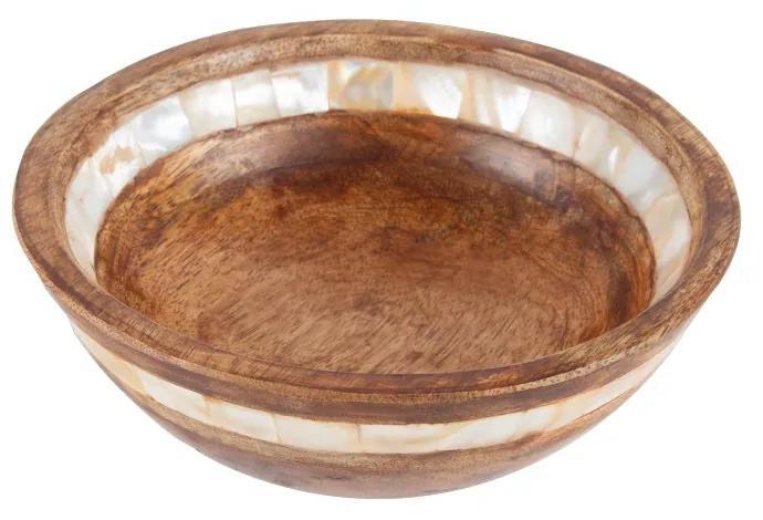 Bowl Madeira Mango Natural 15x5cm 28143 Bon Gourmet