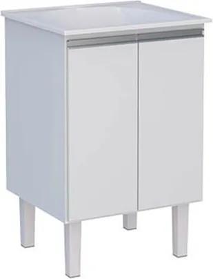 Gabinete Multiuso 60cm MDF Jaboti Branco 57,4x85,4x50,7cm - Cozimax - Cozimax