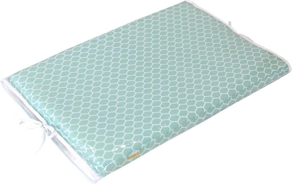 Trocador de Fraldas Estampa Verde para Cômoda Bebê Plastificado Coleção Green