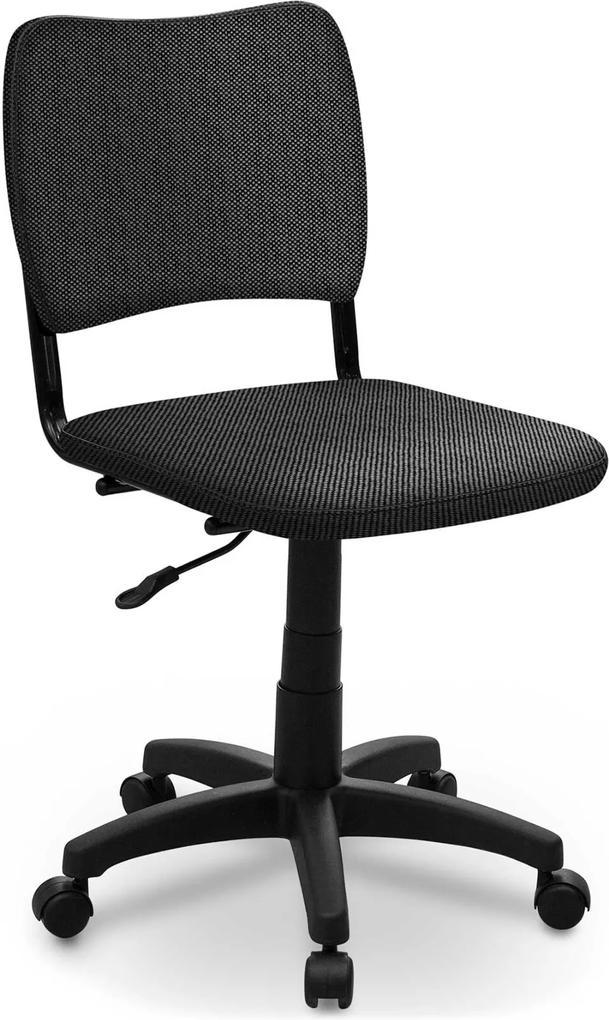 Cadeira Giratória estofados Atena S/ Braço Cinza