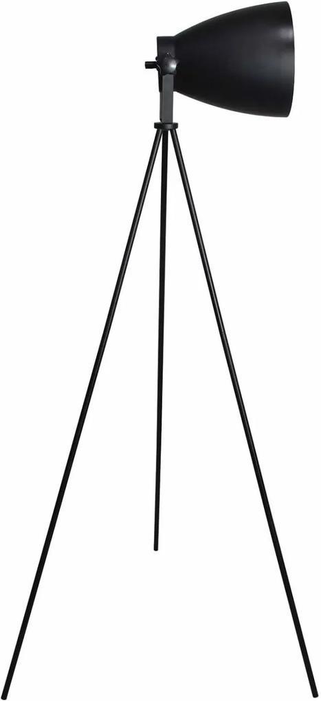 luminária de piso METAL preto 135cm Bella LU008B