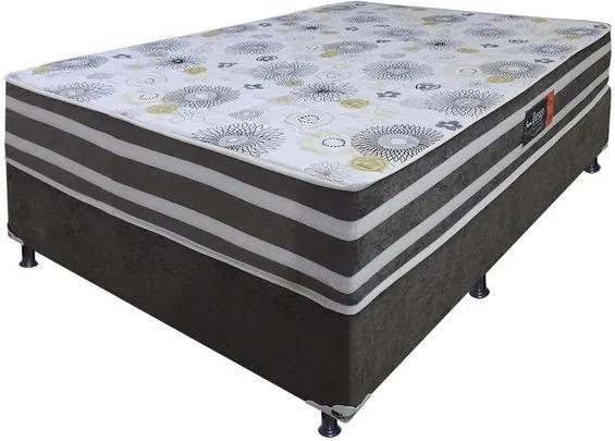 Conjunto Box American Sued 138x64 - Design Colchões Unica