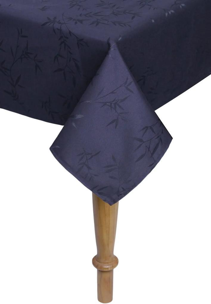 Toalha de Mesa Karsten Celebration Veríssimo Retangular Azul-Marinho